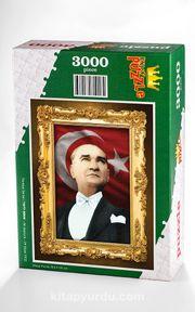 Atatürk - 29 Ekim 1933 Ahşap Puzzle 3000 Parça (TR77-MMM)