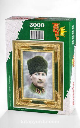 Atatürk - Ankara 1922 Ahşap Puzzle 3000 Parça (TR75-MMM)