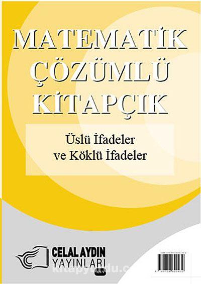 Üslü İfadeler ve Köklü İfadeler / Matematik - Çözümlü Kitapçık -  pdf epub