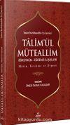 Ta'limü'l Müteallim Öğretmen-Öğrenci İlişkileri (Türkçe-Arapça)