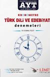 YKS-AYT Kronometre Türk Dili ve Edebiyatı Denemeleri