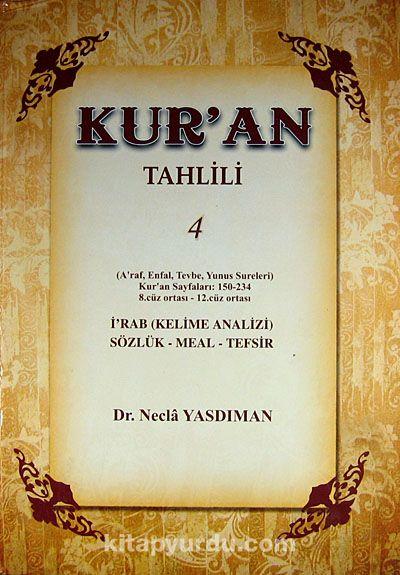 Kur'an Tahlili 4. Cilt - Dr. Necla Yasdıman pdf epub