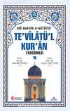 Te'vilatü'l Kur'an Tercümesi 16