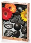 Zen Taşları ve Çiçekler Ahşap Puzzle 1000 Parça (BC05-M)