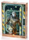 Koşan Fütüristik Asker Ahşap Puzzle 1000 Parça (BK05-M)