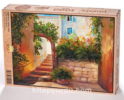 Yaz Sokağı İtalya Ahşap Puzzle 1000 Parça (SK09-M)