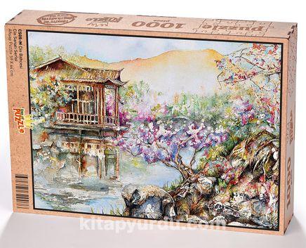 Çin Bahçesi Ahşap Puzzle 1000 Parça (CS05-M)