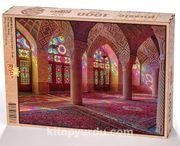 Nasır el-Mülk Camii - Şiraz Ahşap Puzzle 1000 Parça (DI07-M)