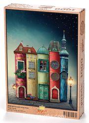 Fantastik Kitap Evler Ahşap Puzzle 1000 Parça (KT01-M)