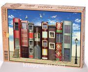 Kitap Sokağı Ahşap Puzzle 1000 Parça (KT05-M)
