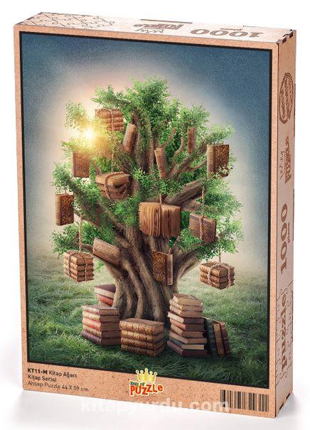 Kitap Ağacı Ahşap Puzzle 1000 Parça (KT11-M)