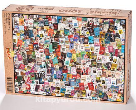 Kitap Kolaj Ahşap Puzzle 1000 Parça (KT13-M)