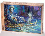 Palyaço ve Papağan Ahşap Puzzle 1000 Parça (PT01-M)