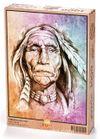 Yaşlı Kızılderili Ahşap Puzzle 1000 Parça (PT03-M)