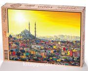 Fatih Camii Ahşap Puzzle 1000 Parça (SY03-M)