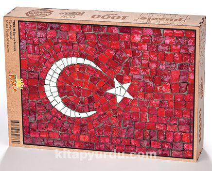 Bayrak Mozaik Ahşap Puzzle 1000 Parça (TR05-M)