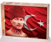 Atatürk Ahşap Puzzle 1000 Parça (TR07-M)