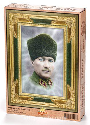 Atatürk - Ankara 1922 Ahşap Puzzle 1000 Parça (TR13-M)