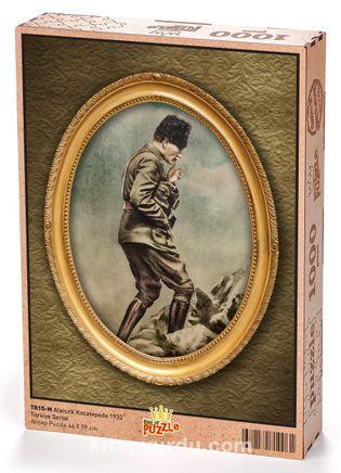 Atatürk Kocatepe'de 1922 Ahşap Puzzle 1000 Parça (TR15-M)