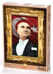 Atatürk - 29 Ekim 1933 Ahşap Puzzle 1000 Parça (TR17-M)