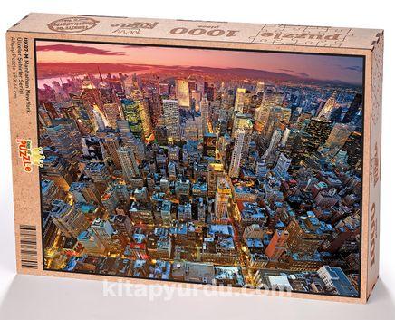 Manhathan New York Ahşap Puzzle 1000 Parça (UK07-M)