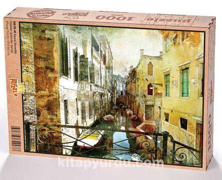 Kanal Venedik Ahşap Puzzle 1000 Parça (UK15-M)