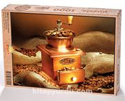 Kahve Çekirdekleri Ahşap Puzzle 1000 Parça (YI05-M)