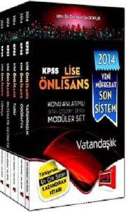 2014 KPSS Lise Önlisans Konu Anlatımlı Soru Çözümlemeli Modüler Set