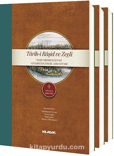 Tarih-i Raşid ve ZeyliRaşid Mehmed Efendi Çelebizade İsmail Asım Efendi (3 Cilt Takım) (K.Kapak) -  pdf epub