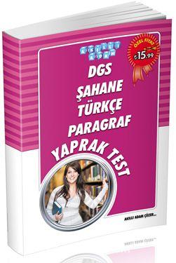 DGS Şahane Türkçe Paragraf Yaprak Test - Kollektif pdf epub