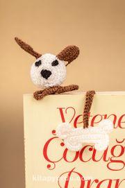 Amigurumi Sevimli Köpek Kitap Ayracı