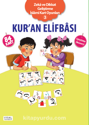 Kuran Elifbası – Eşleştirme Oyunu Zeka ve Dikkat Geliştirme İslami Kart Oyunları-3