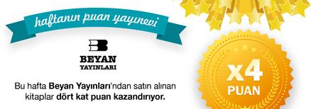 Beyan Yayınları 4 kat Ekstra Puan Kampanyası