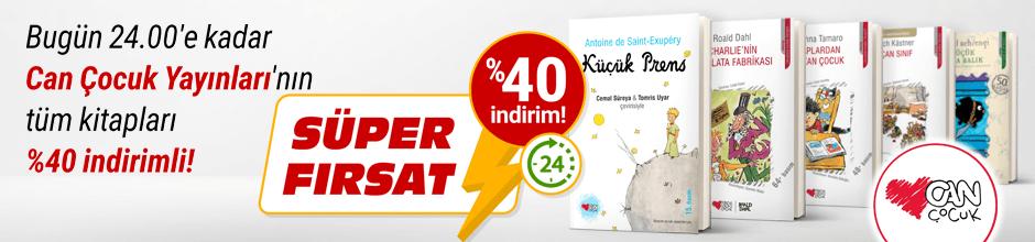 Bugüne Özel Can Çocuk Yayınları %40 indirimli!