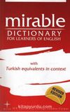 Mirable Dictionary For Learners of English With Turkish Equivalents in Context