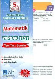 5. Sınıf Matematik Yaprak Test
