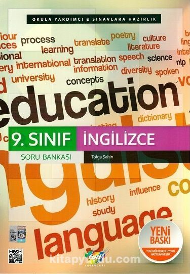9. Sınıf İngilizce Soru Bankası - Tolga Şahin pdf epub