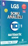 8. Sınıf LGS Matematik Soru Analizli 10 Artı 1 Deneme