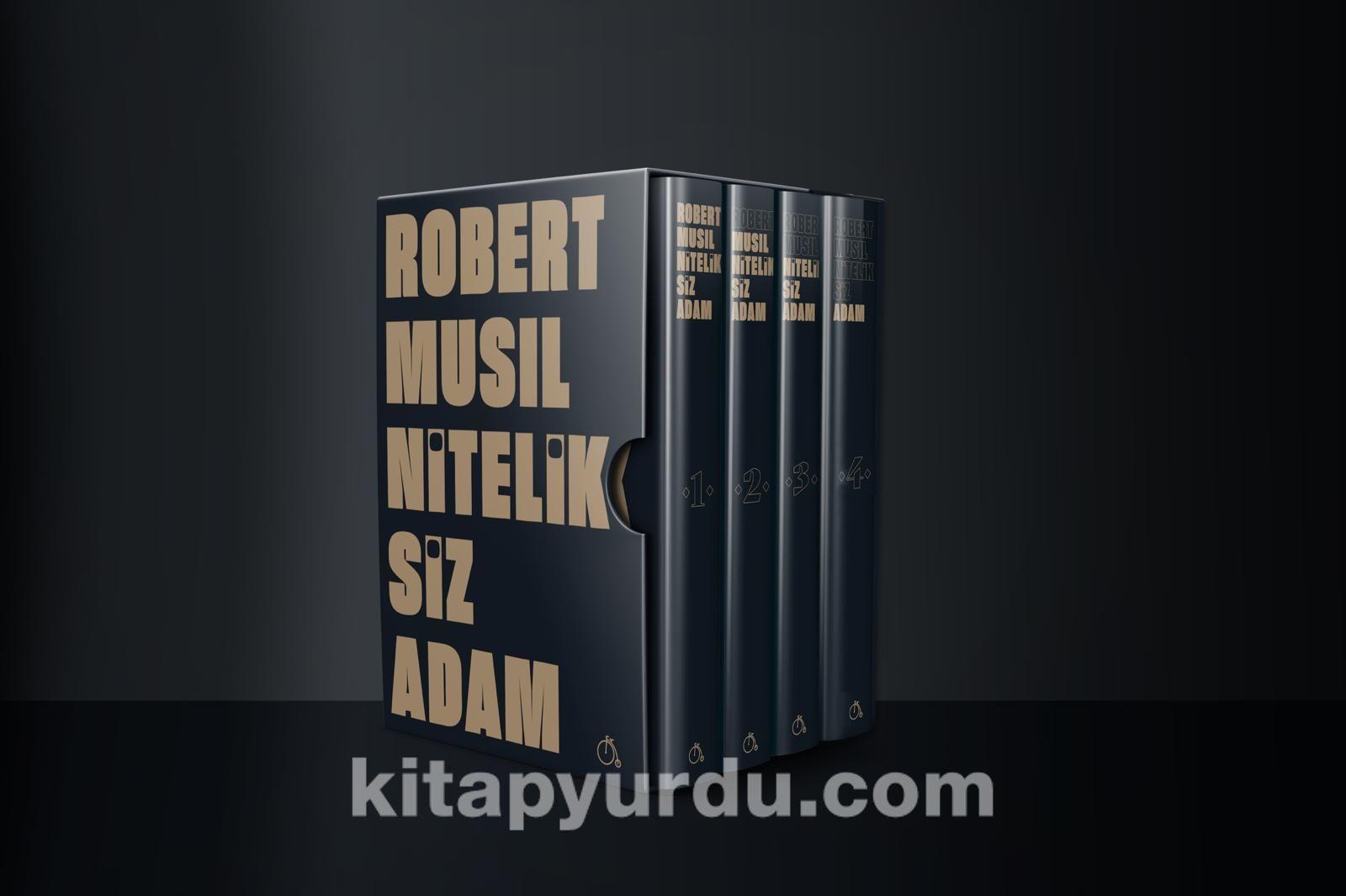 Niteliksiz Adam Seti (4 Kitap)