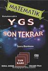 Matematik Konularına Göre YGS Son Tekrar Soru Bankası