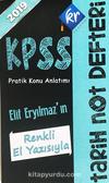 2019 KPSS Tarih Not Defteri