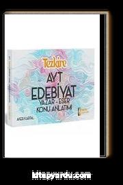 2019 Tezkire YKS AYT Edebiyat Yazar Eser Konu Anlatım
