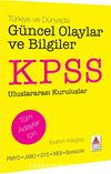 KPSS Türkiye ve Dünyada Güncel Olaylar ve Bilgiler