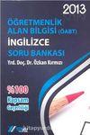 2013 KPSS ÖABT İngilizce Soru Bankası