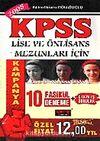 KPSS Lise ve Önlisans 10 Fasikül Deneme/Çıkmış Sorular