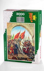 Fatih'in İstanbul'u Fethi Ahşap Puzzle 3000 Parça (TR79-MMM)