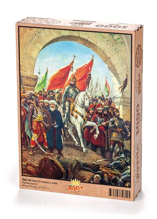 Fatih'in İstanbul'u Fethi Ahşap Puzzle 1000 Parça (TR21-M)