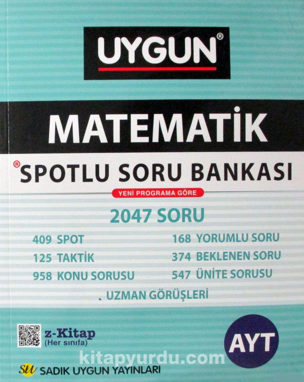 LYS Matematik Spotlu Soru Bankası - Kollektif pdf epub