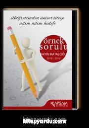 Kapsam Yayınları Ürün Kataloğu 2018-2019