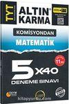 TYT Matematik 5x40 Deneme Sınavı